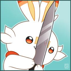 A KNIFE