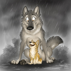 Umbrella wolf