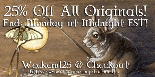 25% Off All Originals!