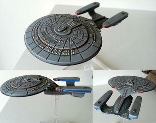 Galleria Federation - USS Enterprise-D