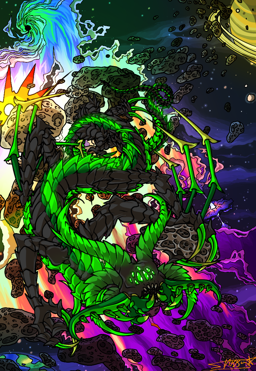 space dragon picture