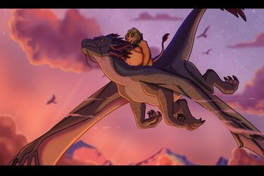 Flight by Naoki_Wolf