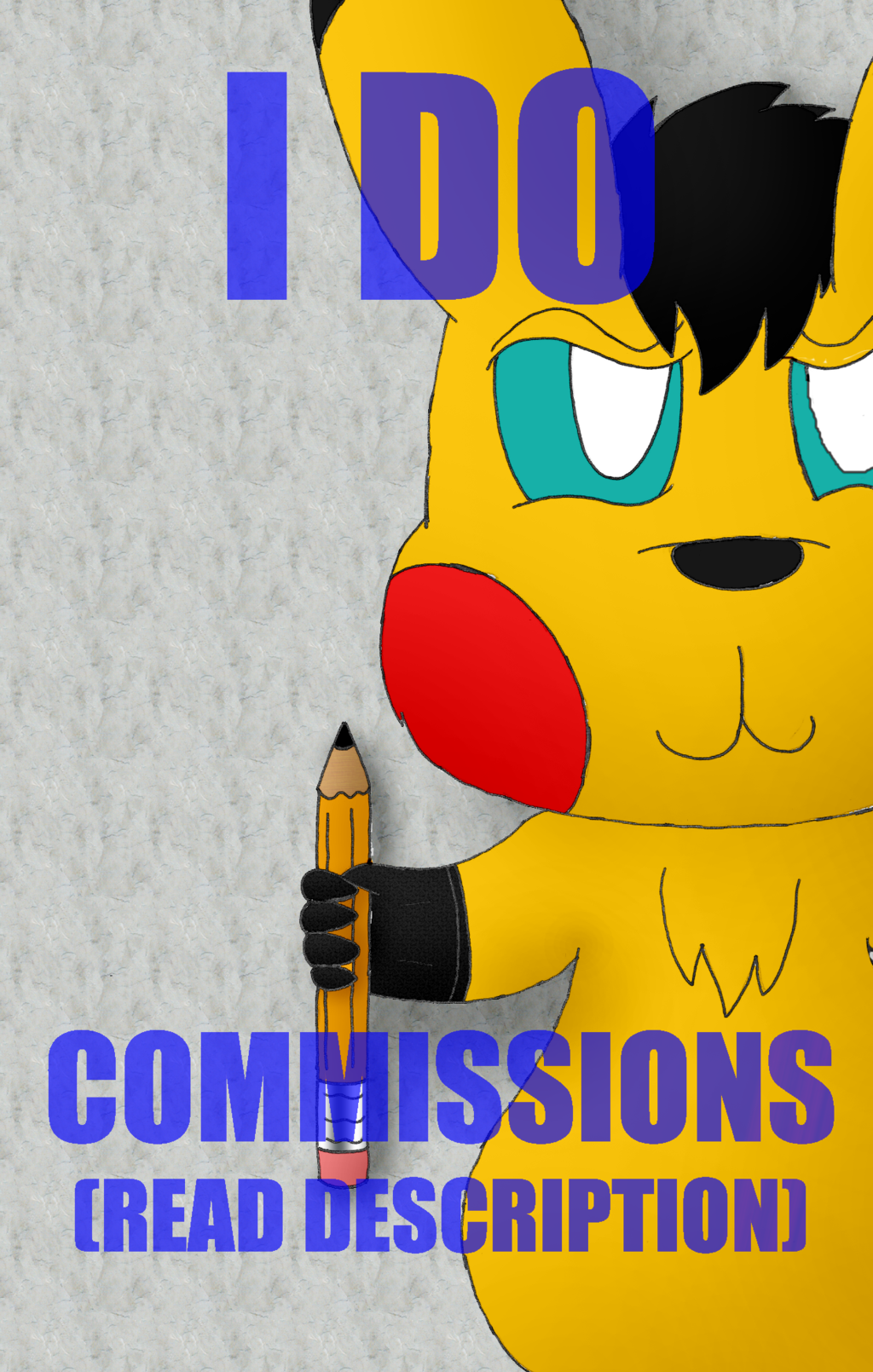 I Draw Commissions! (Read Description)
