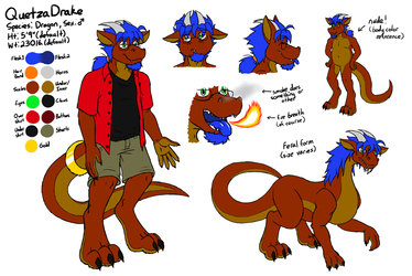 QuetzaDrake Reference Sheet 2016