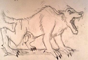 Painful werewolf Transformation