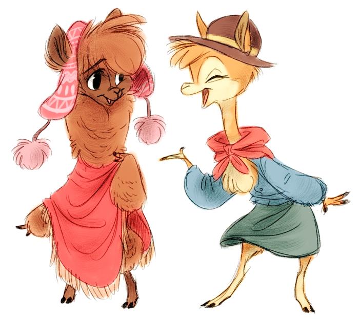 Camelid Gals