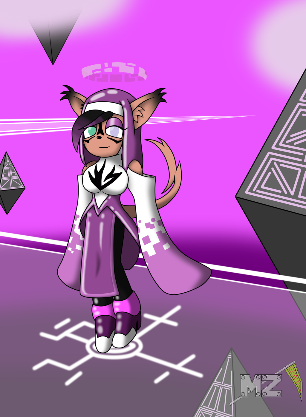 Violet the A.I. Fusion