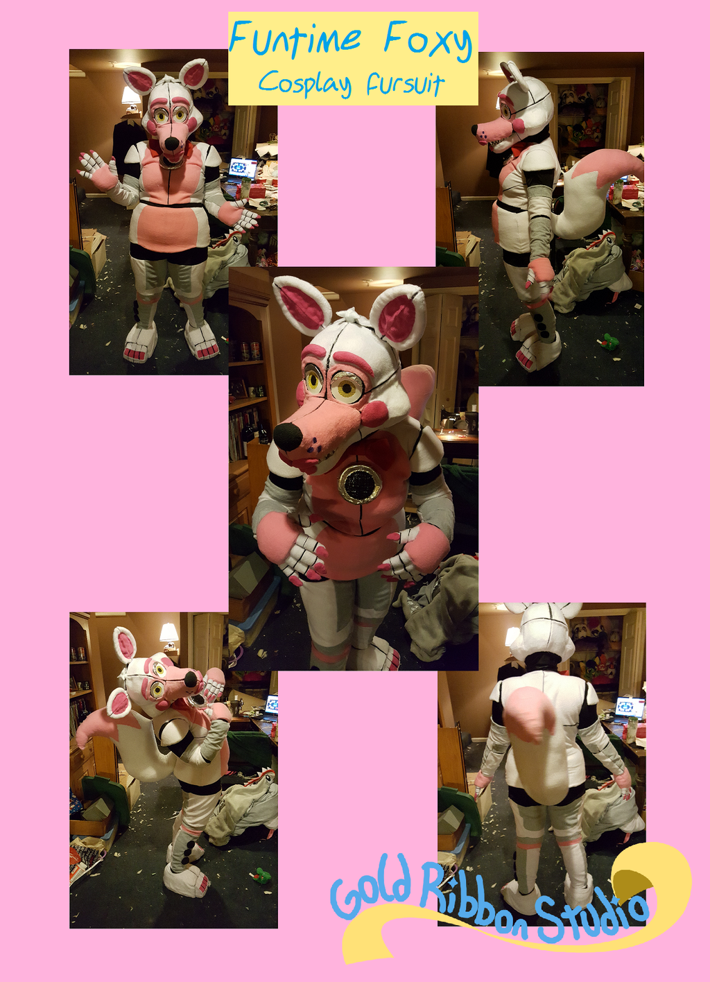 Featured image: Funtime Foxy Fursuit