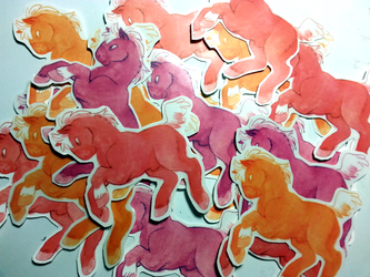 Horse Stickers!