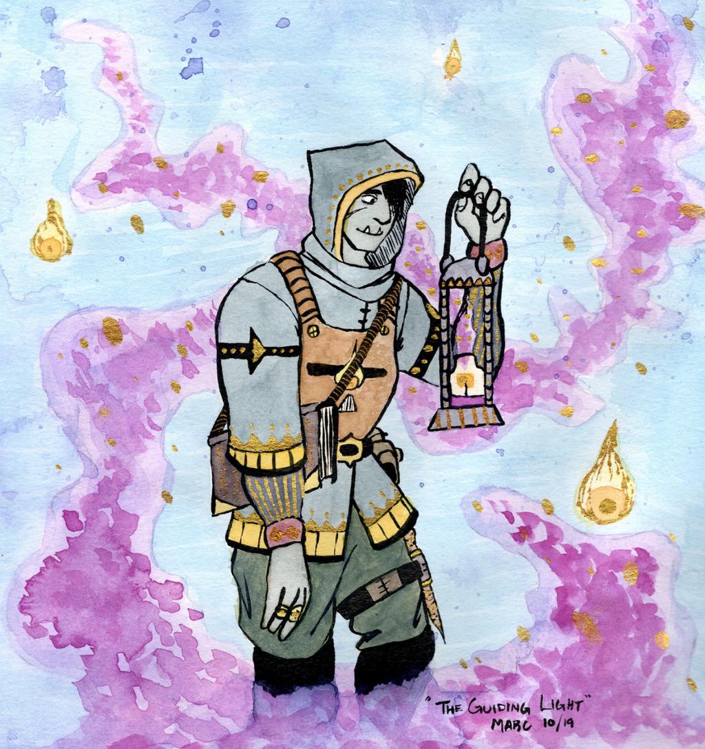 Guiding Light Warlock