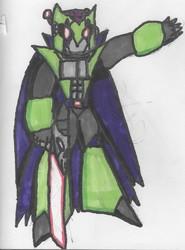 Hack - Mega Man character concept