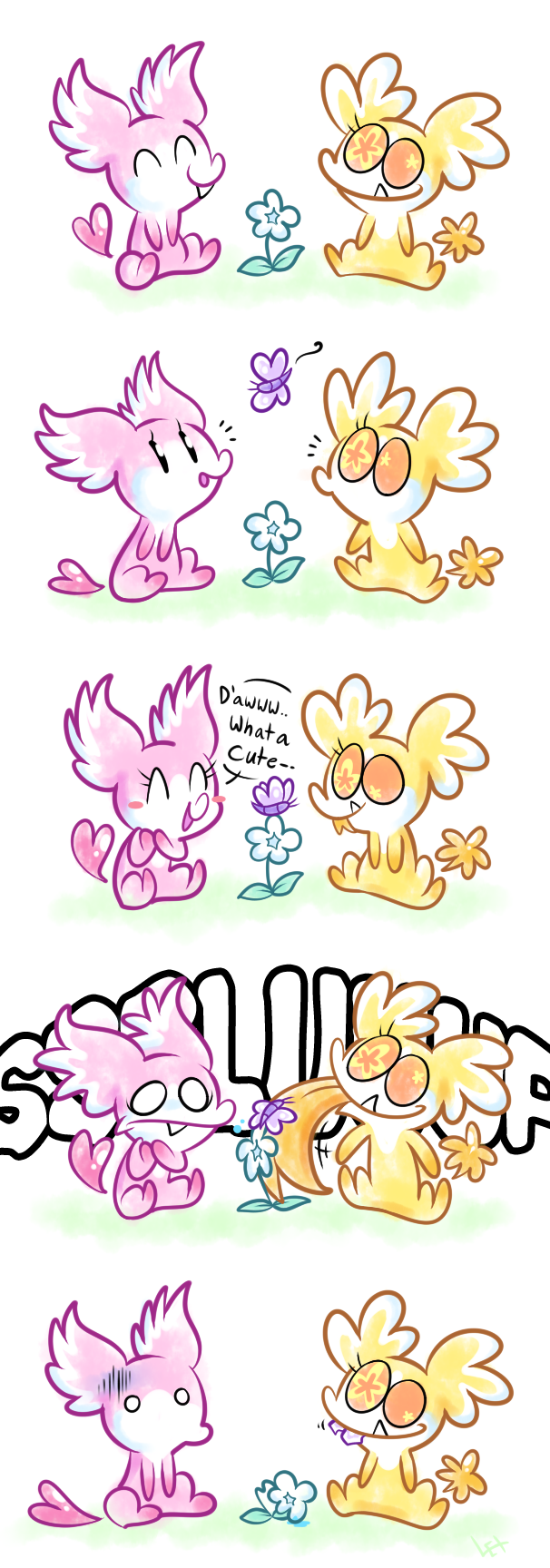 What a cute butterfly (comic)