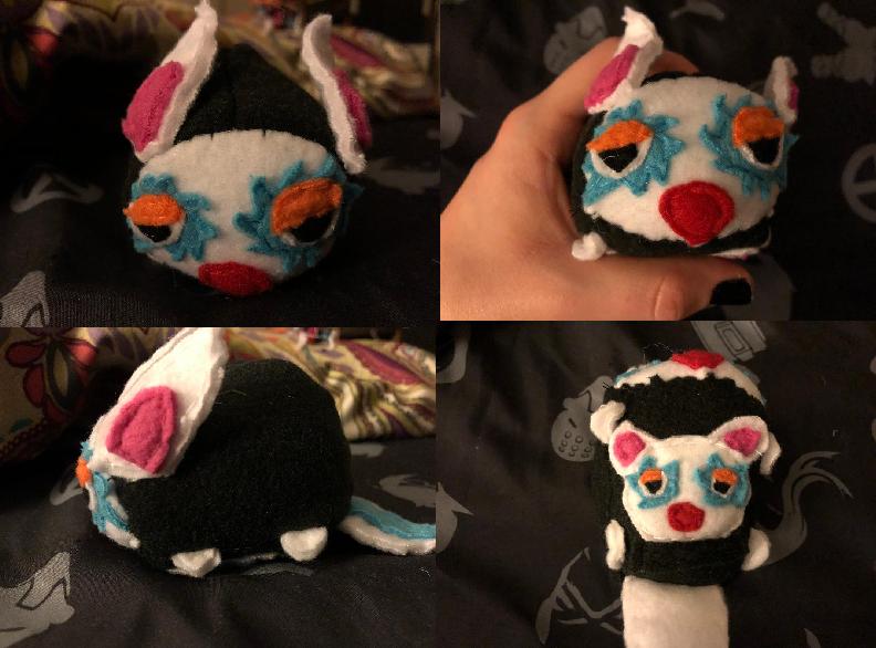 Animal Crossing Astrid the Kangaroo Stacking Plush made for myself
