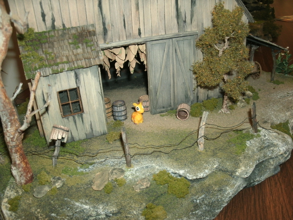 [Tinplate Traction] Fortescue and the Haunted Barn...