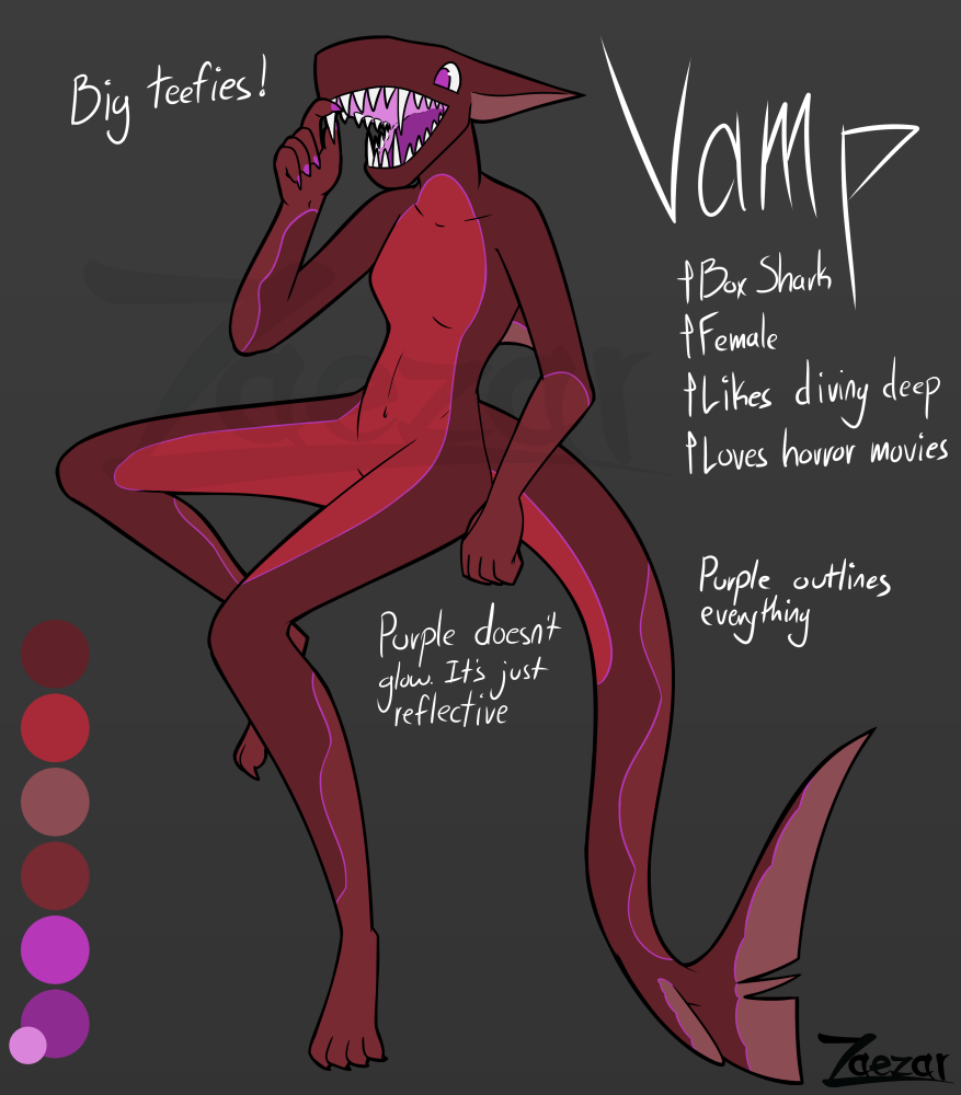 Box Shark Adoptable: Vamp [adopted]
