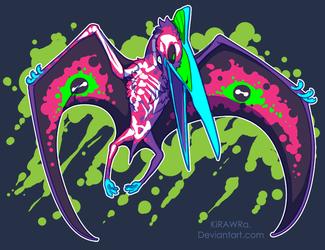 Radioactive Quetzalcoatlus