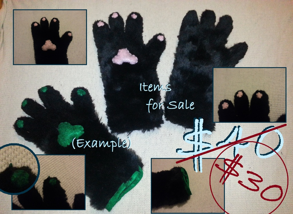 Handpaws for Sale! (Reminder) (Discounted)