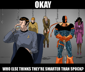Who Else Thinks They're Smarter than Spock?
