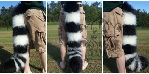 [//Commission] Lemur Tail