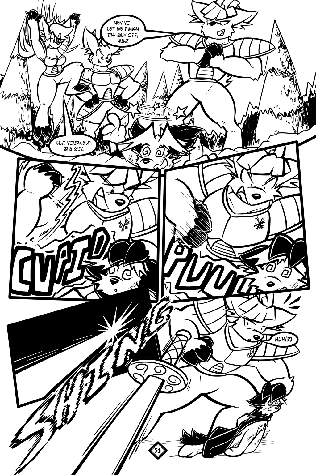 Most recent image: Holiday Special, page 54