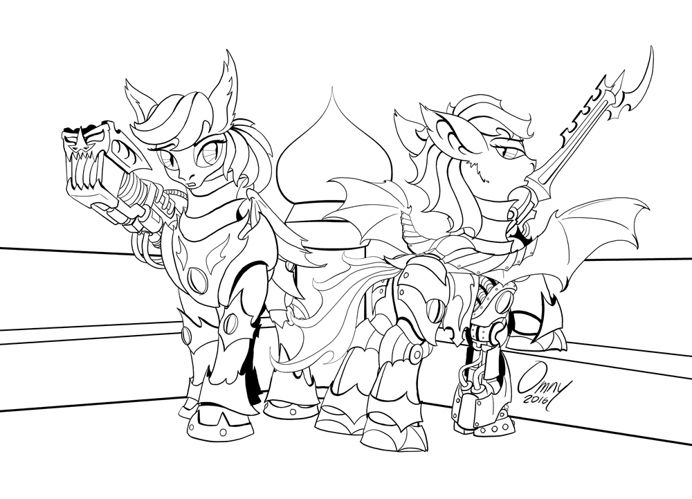 Ponyhammer: Bat Guards (for sfaccountant)