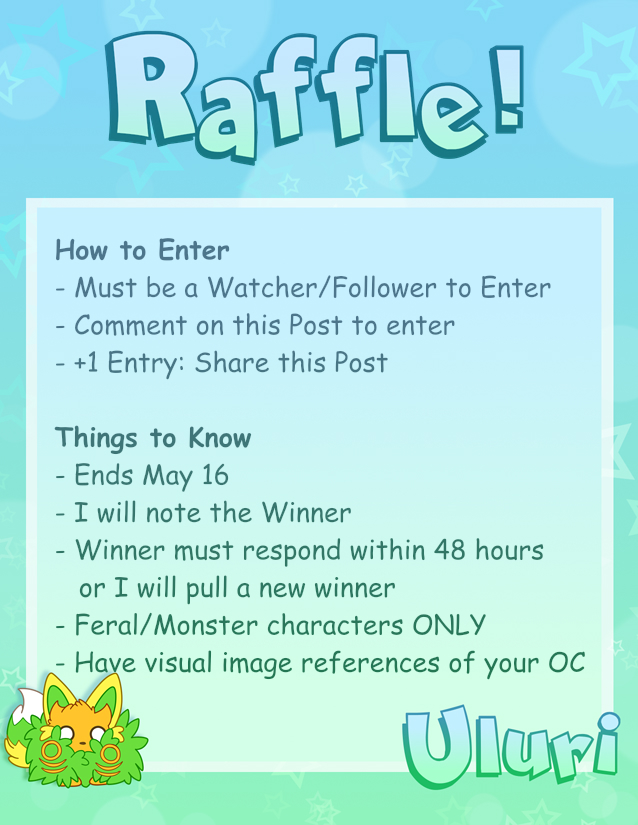 Featured image: Raffle Free Art from Me