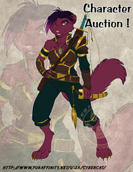 Warrior Weasel Character Auction