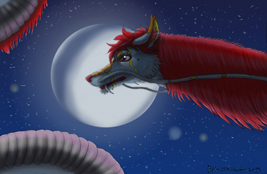 Dragon de la lune