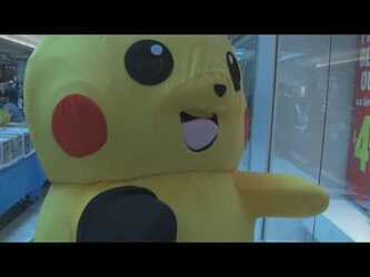 Ace Spade the Pikachu (Mascot Suit) at Orleans Comicbook and Novelty Show