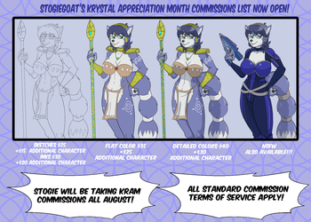 KrAM Commissions Available!!!