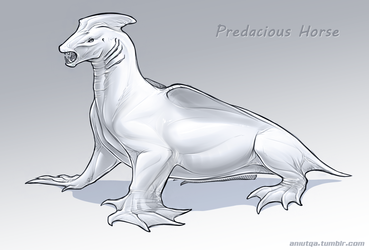 Predacious Horse