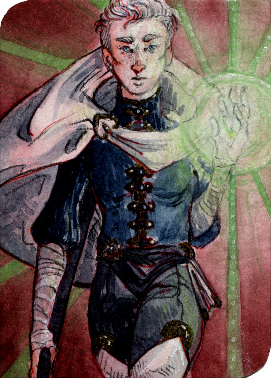 ACEO - Inquisitor Trevelyan