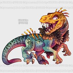 Aywas: Stylish Raptor Oet