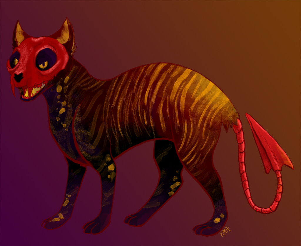 Most recent image: $13 Red Skull Cat Adopt (OPEN)