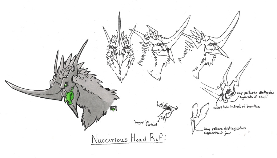 Nuocerious Head Reference