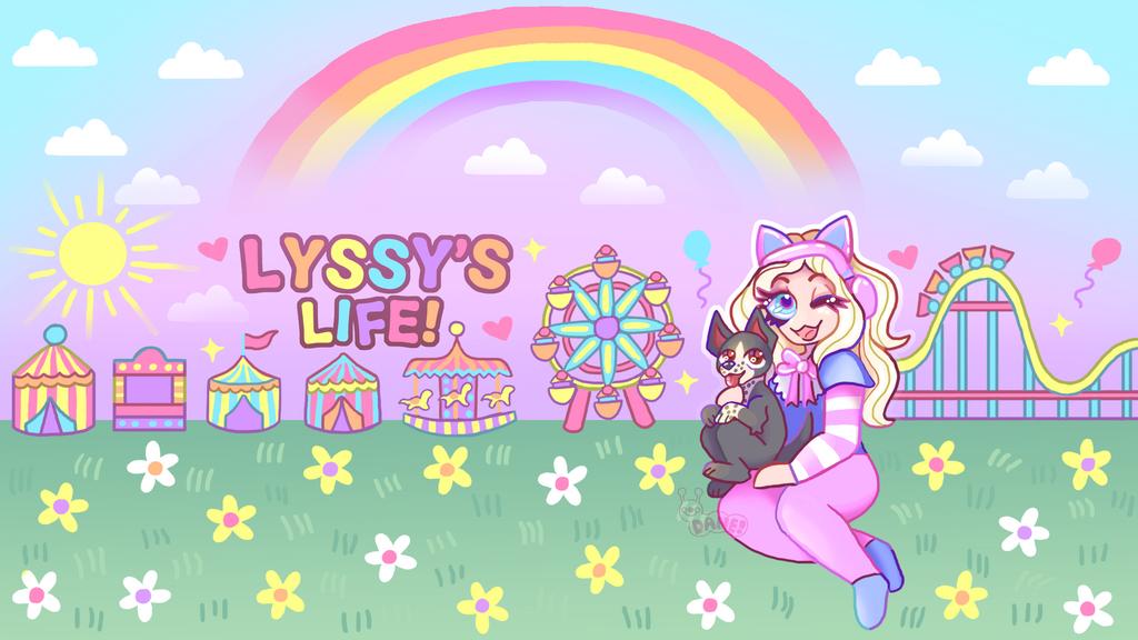 Lyssy's Life Youtube Banner
