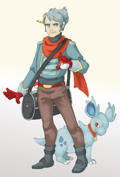 a dude and his poke