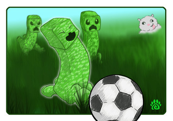 Minecraft: Creeper Soccer