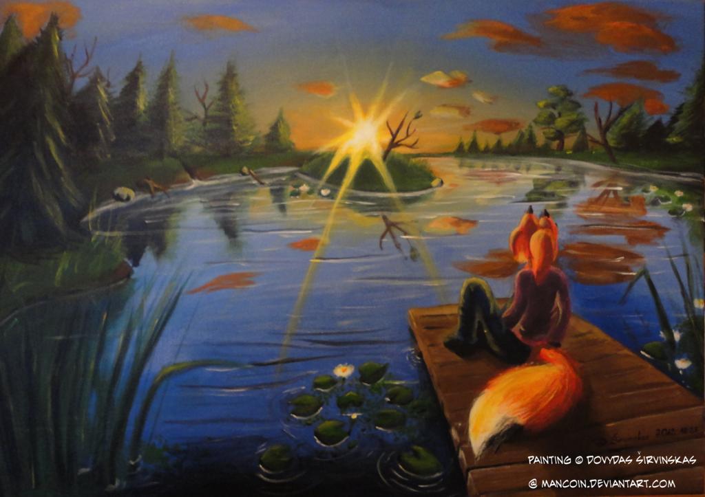 Featured image: Sunset Vixen