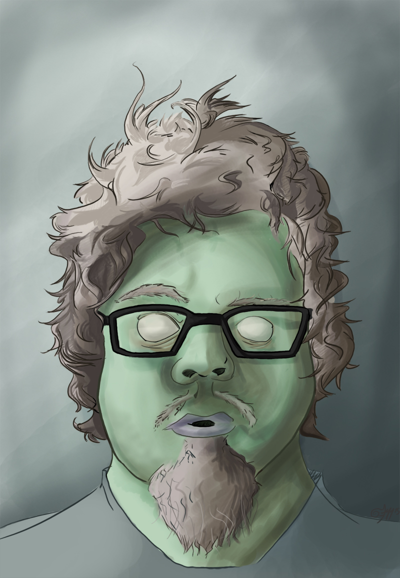 Most recent image: Self-Portrait? [COLORED]
