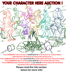 """YCH Your Character Here Ladder Auction """" S'Mores ! """""""