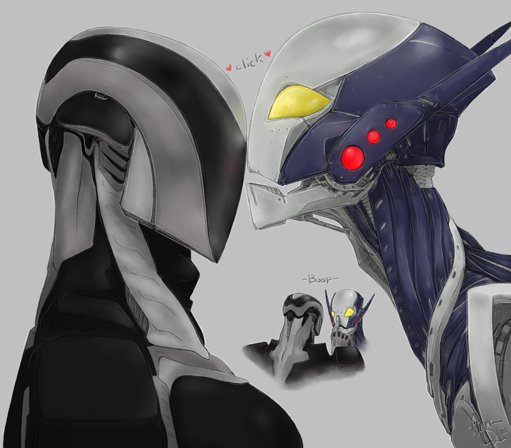 Robot Kisses