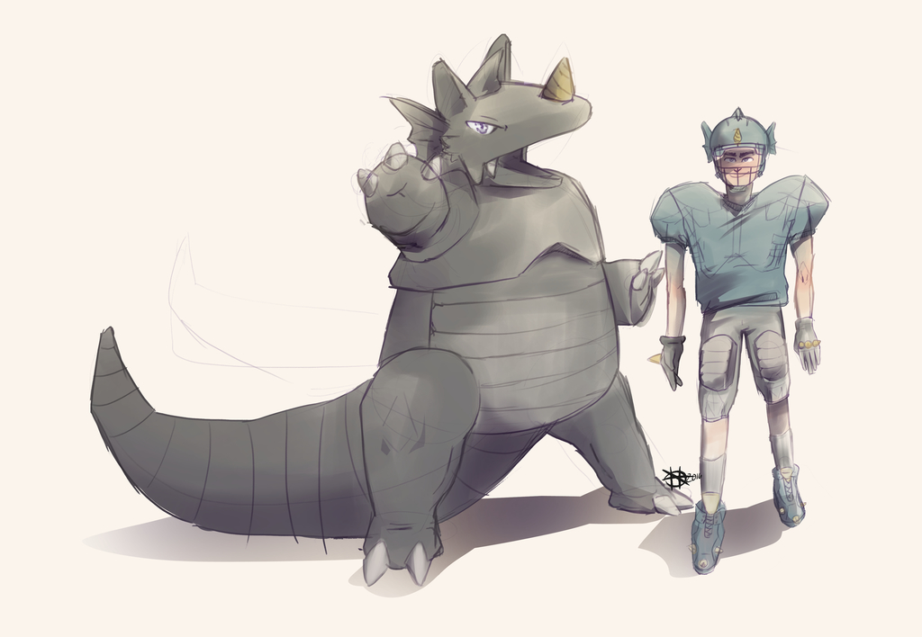 Rhydon and footballer