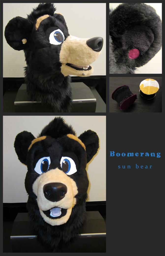 Boomerang Sun Bear!