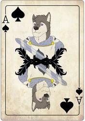 CFz wonderland badge/ roomsign artwork Faust