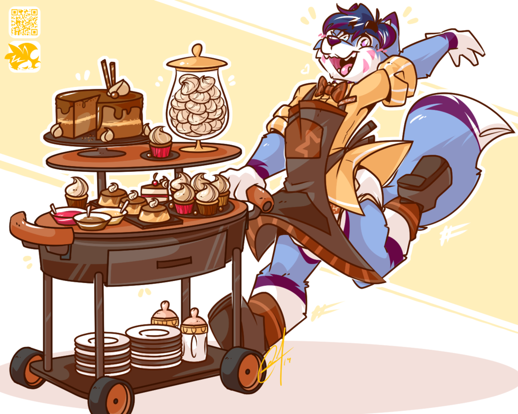 [⚡] - ROLLING WITH DESSERTS