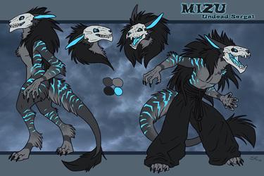 Mizu The Undead Sergal