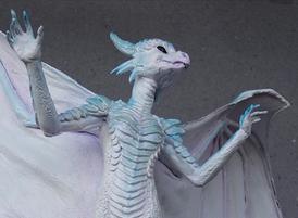 White dragoness