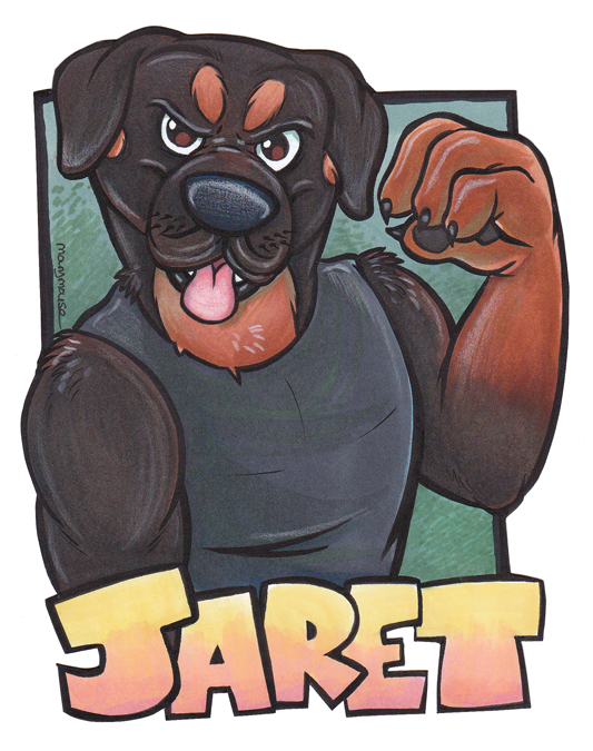 Most recent image: Jaret badge by Mary Mouse