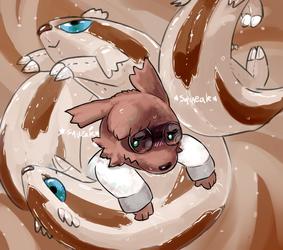 Kotetsu's pool toy ego death